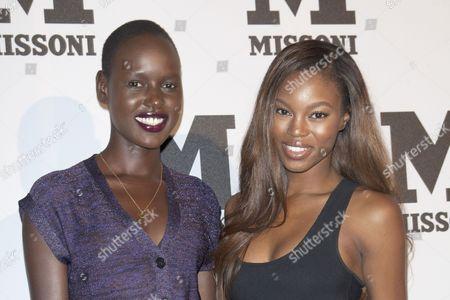 Ajak Deng and Jeneil Williams