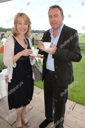 Beth Goddard and Philip Glenister