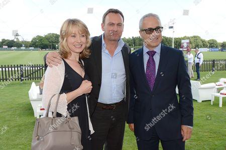 Beth Goddard, Philip Glenister and John Zammett