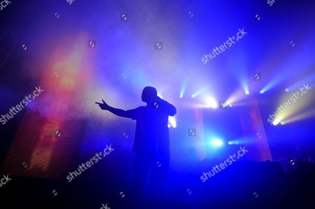 Stock Picture of K Koke Live on the Radio 1 Extra stage
