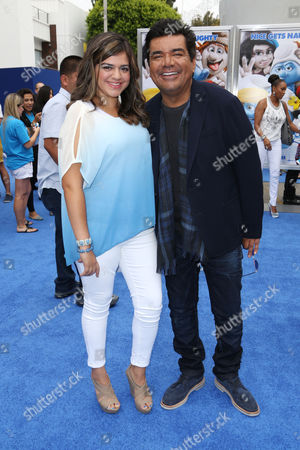 George Lopez and daughter Mayan Lopez