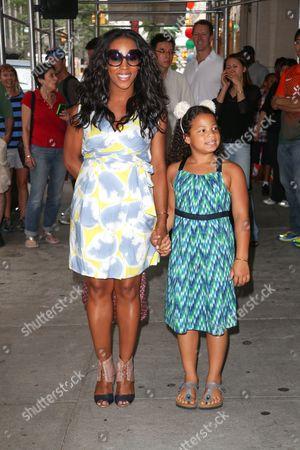 June Ambrose with daughter Summer Chamblin