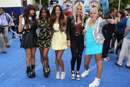 GRL - Paula Van Oppen, Emmalyn Estrada, Natasha Slayton and Lauren Bennett, Simone Battle