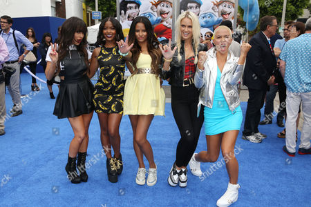 GRL - Paula Van Oppen, Emmalyn Estrada, Natasha Slayton and Lauren Bennett, Simone Battle