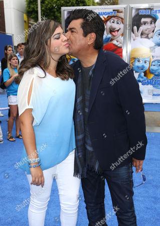 Editorial image of 'The Smurfs 2' film premiere, Los Angeles, America - 28 Jul 2013