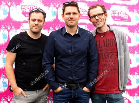 Scouting for Girls- Greg Churchouse, Roy Stride and Peter Ellard
