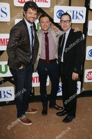 Stock Photo of Matt Jones, Nathan Corddry and French Stewart