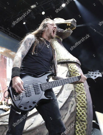 Ted Lundstrom of Amon Amarth
