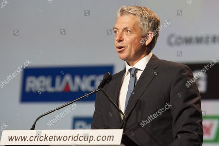 CEO of the international cricket council Sir David Richards