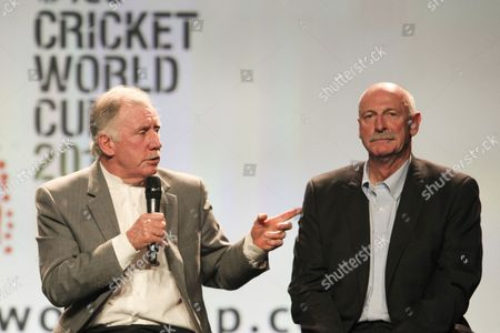 Editorial picture of Official Launch of the ICC Cricket World Cup 2015, Melbourne, Australia - 30 Jul 2013