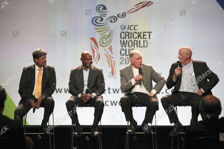Kapil Dev, Sanath Jayasuriya, Ian Chappell and Dennis Lillee