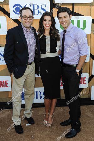 PJ Burn, Meghan Ory, Michael Rady