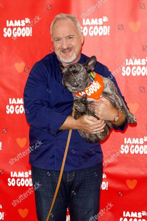 Art Smith and his dog Cochon