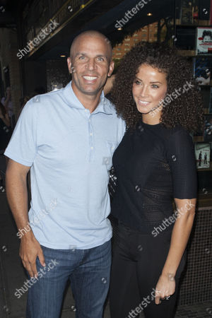 Stock Picture of Jason Kidd and Porschla Coleman