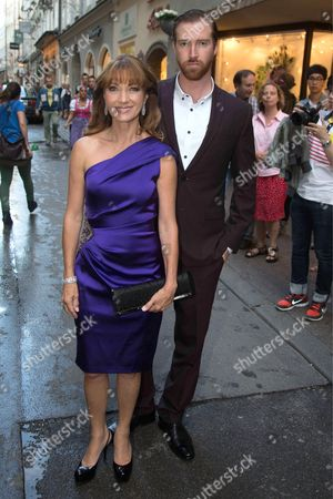 Jane Seymour with son Sean Flynn