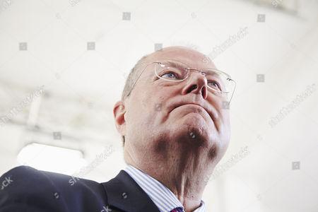 SPD Chancellor candidate Peer Steinbrueck