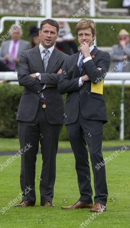 Stock Image of Michael Owen and John Maxse