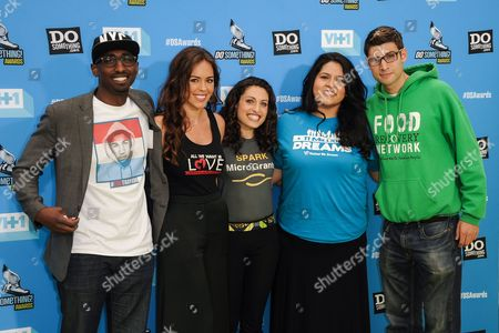 Stock Picture of Daniel Maree, Jillian Mourning, Sasha Fisher, Lorella Praeli and Ben Simon