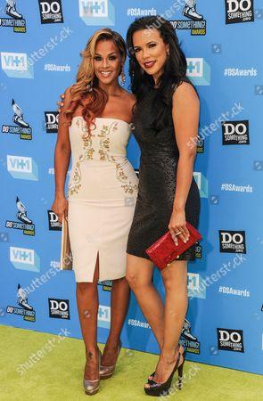 Sheree Fletcher and Shamicka Lawrence