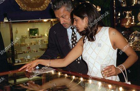 GULU LALVANI WITH EX WIFE VIMLA