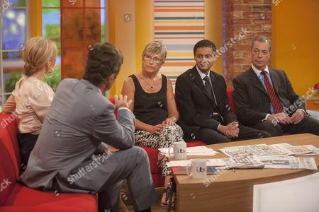 Editorial image of 'Daybreak' TV Programme, London, Britain - 01 Aug 2013