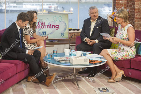 Gordon Smart and Emily Dean with Eamonn Holmes and Ruth Langsford