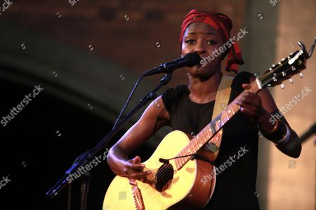 Editorial photo of Josephine in concert at the Union Chapel, London, Britain  - 25 Jul 2013
