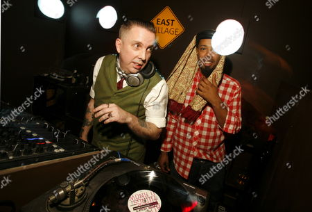 DJ Andrew Weatherall at East Village London England