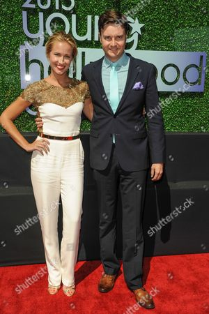 Anna Camp and Michael McMillian