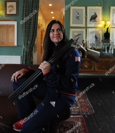 Olympics 2012 Feature Shooting. Bisley Shooting Ground. . Charlotte Kerwood.