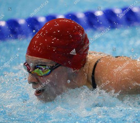 Swimming-womens 100m Butterfly Ellen Gandy Fails To Win A Medal. Aquatics Centre London UK 29/07/12London 2012 Olympic Games.