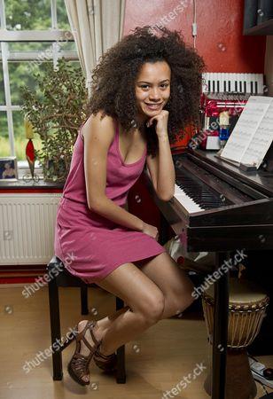 Olympic Ceremony Dancer Jasmine Breinburg 18 From South London.  29/07/2012.