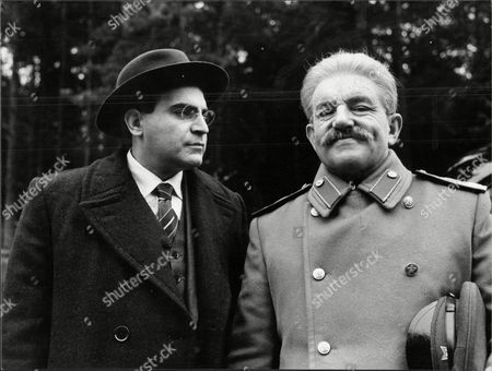 The Filming Of The Red Monarchy Staring David Suchet As Beria And Colin Blakely As Stalin.
