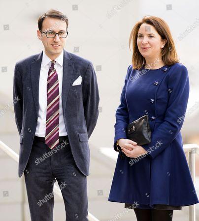 Miguel Head (Private Secretary) and Rebecca Deacon