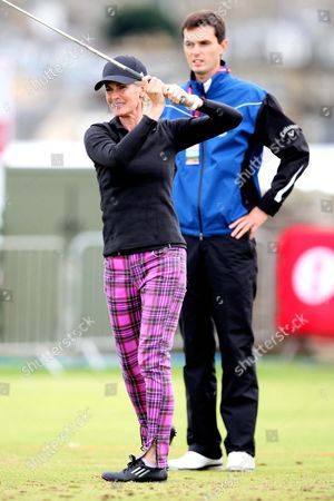 Stock Picture of Judy Murray and Blair Cross