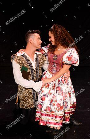 Stock Photo of Allan Jay (Jack Trott) and Janine Pardo (Princess Amelia)