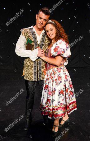 Allan Jay (Jack Trott) and Janine Pardo (Princess Amelia)