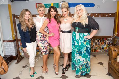 Amy Scott, Angela Russell, Lizzie Cundy, Pippa Fulton and Katie Kerr