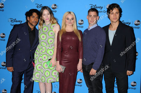Naveen Andrews, Sophie Lowe, Emma Rigby, Michael Socha and Peter Gadiot - Cast of Once Upon a Time in Wonderland