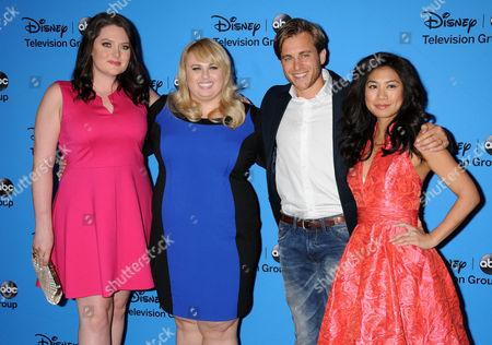 Lauren Ash, Rebel Wilson, Liza Lapira and cast of Super Fun Night