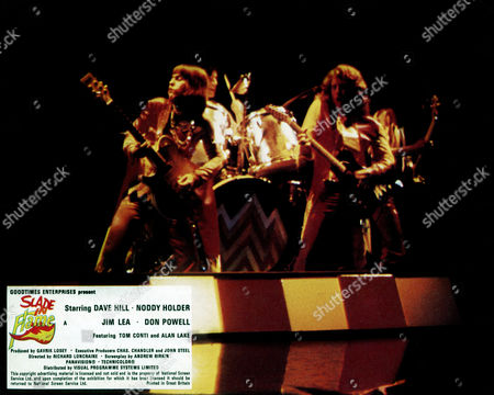 Slade in Flame, Dave Hill, Noddy Holder, Jim Lea, Don Powell