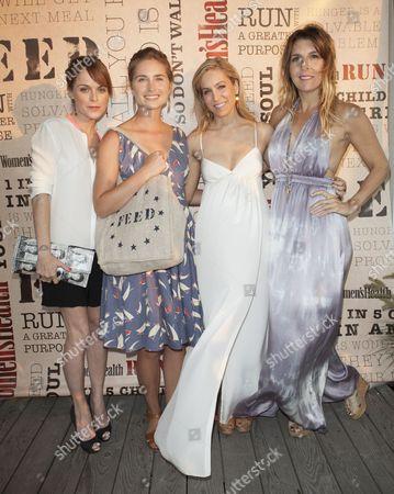 Taryn Manning, Lauren Bush, Laura Frerer-Schmidt and Michele Promaulayko