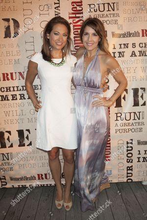 Ginger Zee and Michele Promaulayko