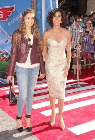Stock Image of Teri Hatcher with daughter Emerson Rose Tenney
