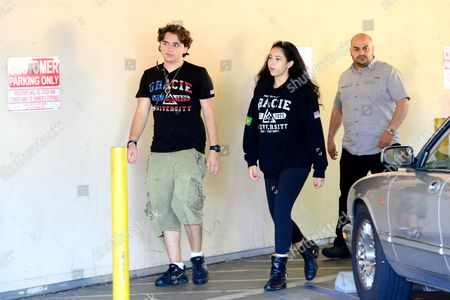 Editorial image of Prince Michael Jackson and Remi Alfalah out and about, Los Angeles, America - 05 Aug 2013