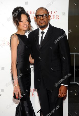 Forest Whitaker with his wife Keisha Nash Whitaker