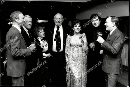 Editorial photo of Television Programme This Is Your Life With The Subject Being Harry Andrew . Guests Include Robert Fleming David Langton Joyce Redman Harry Andrew Gina Lollobridgidaa Alan Bates And Robert Hardy.