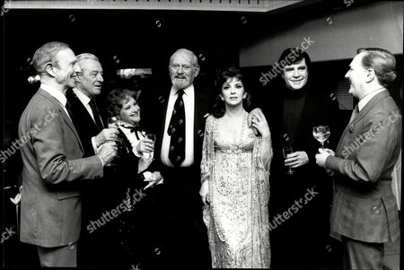 Stock Image of Television Programme This Is Your Life With The Subject Being Harry Andrew . Guests Include Robert Fleming David Langton Joyce Redman Harry Andrew Gina Lollobridgidaa Alan Bates And Robert Hardy.