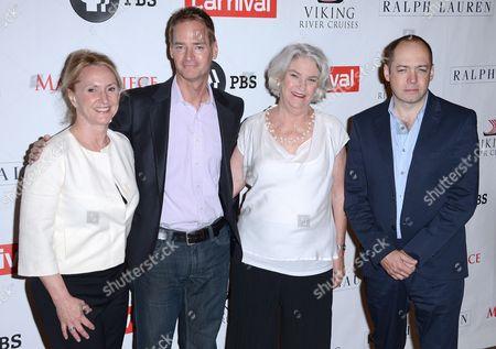 Susanne Simpson, Mark Brogger, Rebecca Eaton and Gareth Neame