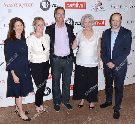 Deborah Oppenheimer, Susanne Simpson, Mark Brogger, Rebecca Eaton and Gareth Neame